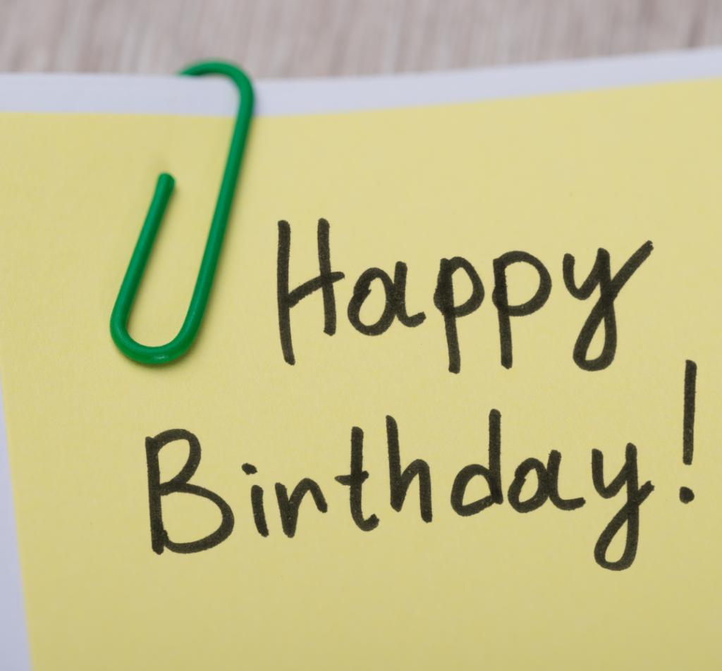 Birthday happy clients